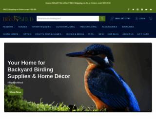thebirdshed.com screenshot
