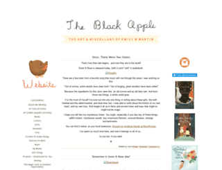 theblackapple.typepad.com screenshot
