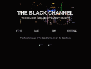 theblackchannel.net screenshot