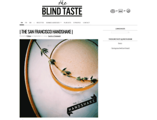 theblindtaste.com screenshot