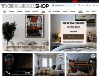 theblockshop.com.au screenshot