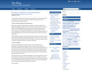 theblog.es screenshot