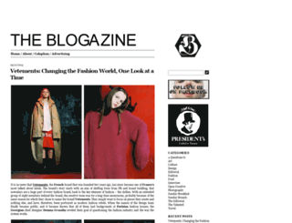 theblogazine.com screenshot