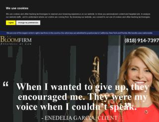 thebloomfirm.com screenshot