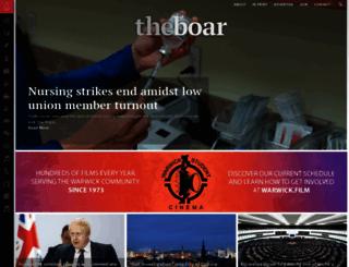 theboar.org screenshot
