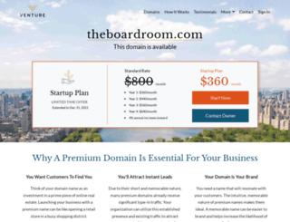 theboardroom.com screenshot