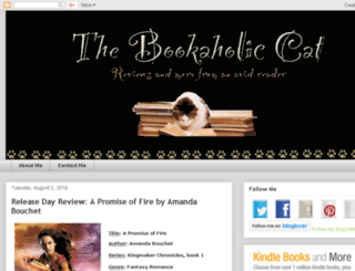thebookaholiccat.blogspot.com screenshot