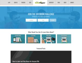 thebookflipper.com screenshot