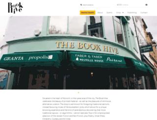 thebookhive.co.uk screenshot