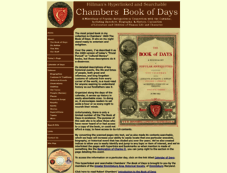 thebookofdays.com screenshot