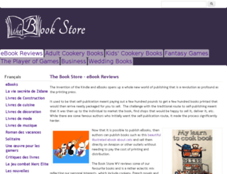thebookstorewv.com screenshot