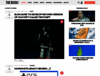 thebosh.com screenshot