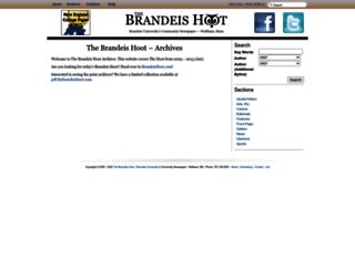 thebrandeishoot.com screenshot