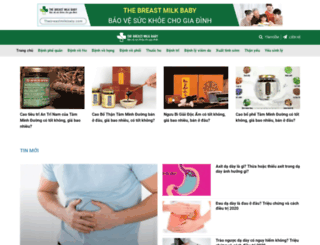 thebreastmilkbaby.com screenshot