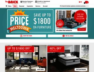 thebrick.com screenshot
