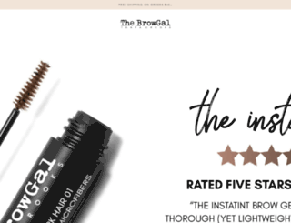 thebrowgal.com screenshot