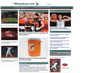 thebrushback.com screenshot