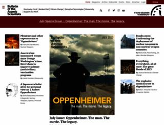 thebulletin.org screenshot