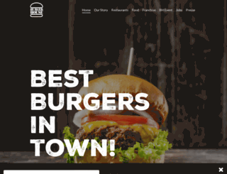theburgerhouse.com screenshot
