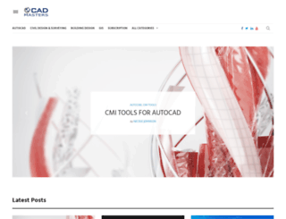 thecadmasters.com screenshot