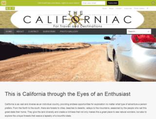 thecaliforniac.com screenshot