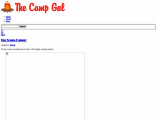 thecampgal.com screenshot