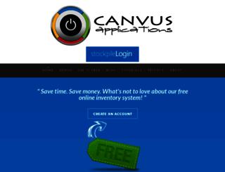 thecanvus.com screenshot