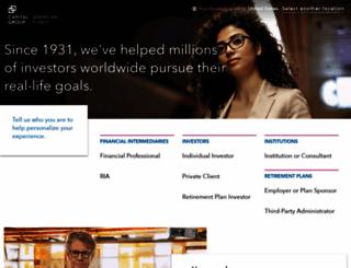 thecapitalgroup.com screenshot
