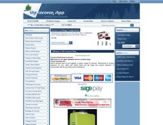 thecaravanshop.co.uk screenshot