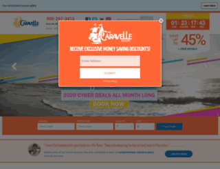 thecaravelle.com screenshot