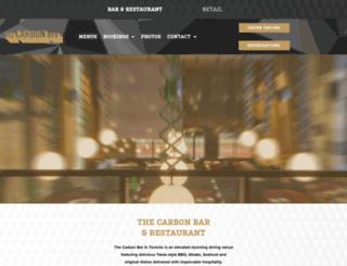 thecarbonbar.ca screenshot