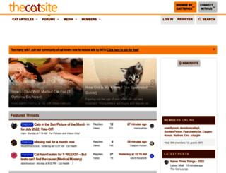 thecatsite.com screenshot
