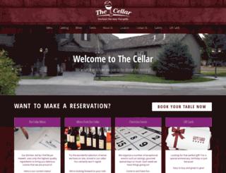 thecellar.biz screenshot