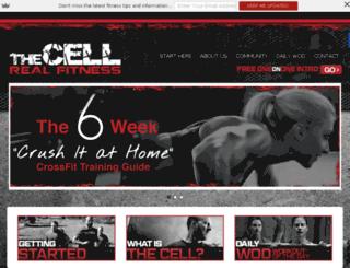 thecellfitness.com.au screenshot