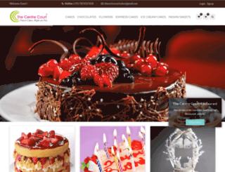 thecentrecourtcakes.com screenshot