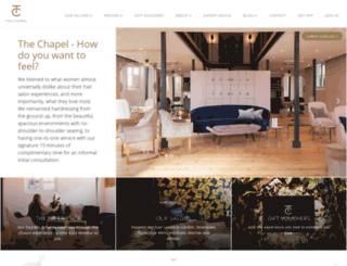 thechapel.co.uk screenshot