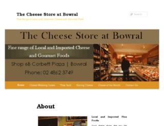thecheesestorebowral.com screenshot