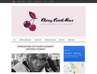 thecherrycreeknews.com screenshot