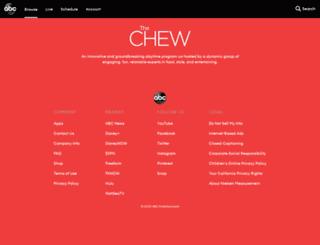 thechew.com screenshot