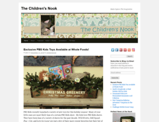 thechildrensnook.com screenshot