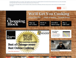 thechoppingblock.net screenshot