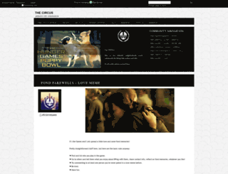 thecircus.dreamwidth.org screenshot