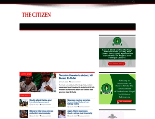 thecitizenng.com screenshot