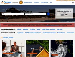 thecityoflosangeles.org screenshot