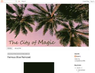 thecityofmagic.blogspot.com screenshot