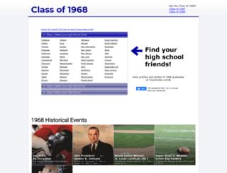 theclassof1968.com screenshot