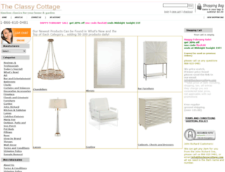 theclassycottage.com screenshot