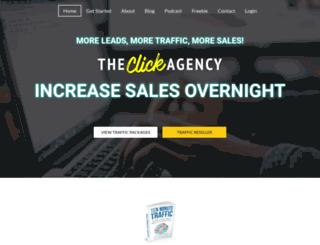 theclickagency.com screenshot