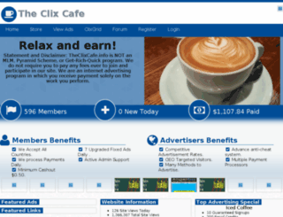 theclixcafe.info screenshot