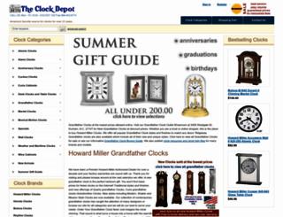 theclockdepot.com screenshot